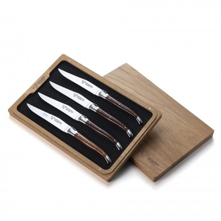 ステーキナイフ4本セット (アムレット ステンレス)