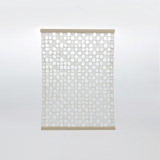 お部屋の空気を綺麗にしてくれる 呼吸する和紙のタペストリー/佐藤 友佳理(りくう)