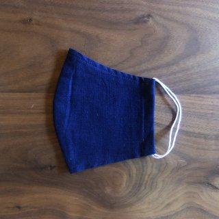 【通年用】藍の香りで心穏やかに 本藍染のマスク(1枚)/矢野 藍秀(本藍染矢野工場)