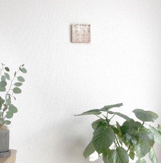 【蘇芳染め(すおうぞめ)】呼吸する和紙のフレーム /佐藤 友佳理(りくう)