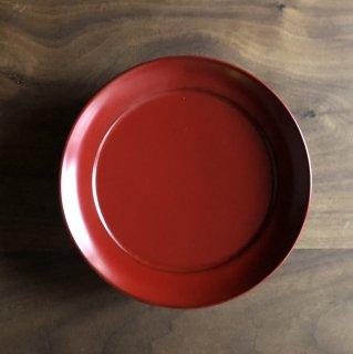 お菓子もおつまみも乗せるだけでより魅力的になる 漆塗りの椿皿(M)/佐藤 史幸(秋田・川連塗 寿次郎)