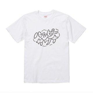 ロゴTシャツ ホワイト×ブラック