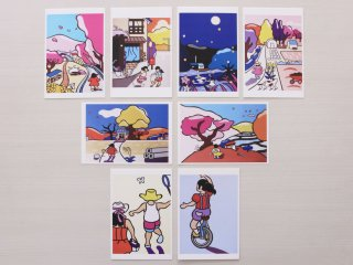 ポストカード(8枚セット) / Postcards (Set of 8)