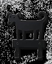 DOG HANGER BLACK
