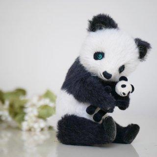 パンダちゃんとパンダちゃん