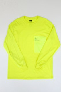 <img class='new_mark_img1' src='https://img.shop-pro.jp/img/new/icons20.gif' style='border:none;display:inline;margin:0px;padding:0px;width:auto;' />FreshService / LS Pocket Tee - YELLOW