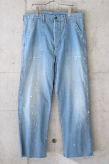 <img class='new_mark_img1' src='https://img.shop-pro.jp/img/new/icons20.gif' style='border:none;display:inline;margin:0px;padding:0px;width:auto;' />orslow/ US NAVY UTILITY PANTS - 3YEAR WASH PAINT