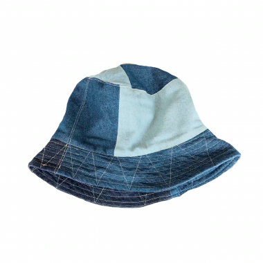 <img class='new_mark_img1' src='https://img.shop-pro.jp/img/new/icons20.gif' style='border:none;display:inline;margin:0px;padding:0px;width:auto;' />Engineered Garments/ Bucket Hat - Washed 8oz Denim
