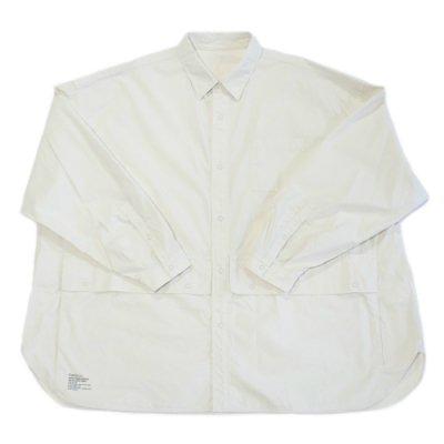 FreshService / Cargo Pocket Regular Collar Utility Shirt - IVORY