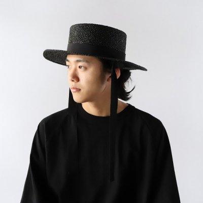 NOC(エヌオーシー) / DAIDOU HAT - BLACK