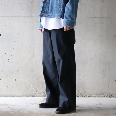 TRO USERS / WIDE TROUSERS (West Point) - D.NAVY