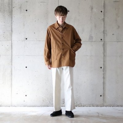 TRO USERS / REGULAR TROUSERS(West Point) - ECRU