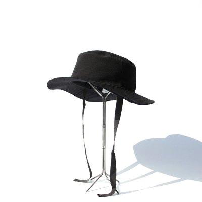 Laugh & Be... / 別注SAFARI HAT - BLACK