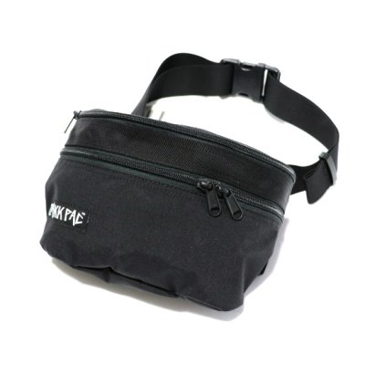 ZAKKPAC / HIP BAG - BLACK