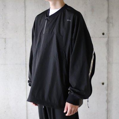 ROTOL (ロトル) / REFLECT TRACK SHIRT - BLACK