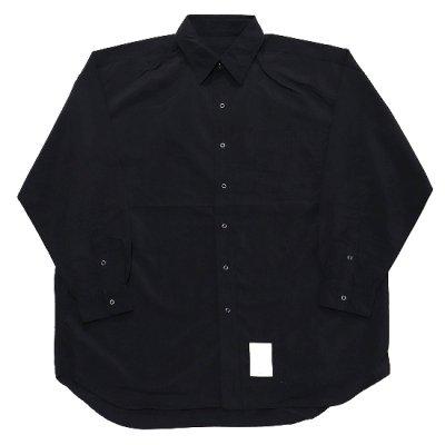 BURLAP OUTFITTER(バーラップアウトフィッター)/ 別注 LS B.B. SHIRTS - BLACK