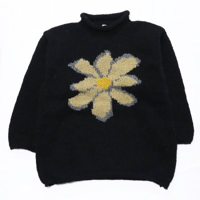 Niche. (ニッチ) / Roll Neck Sweater - BLACK