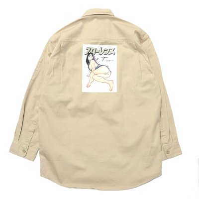 フローレンス / WORK SHIRTS - BEIGE