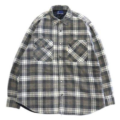 go-getter / Remake Snap Shirt 2 - GREY