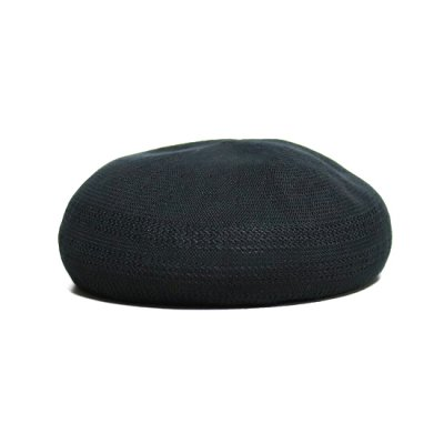 COMESANDGOES (カムズアンドゴーズ) /  COTTON CASHMERE MESH BERET - BLACK