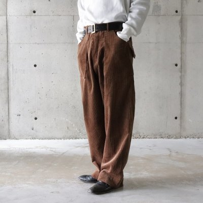 Willow Pants (ウィローパンツ) / CORDUROY PANTS - BROWN