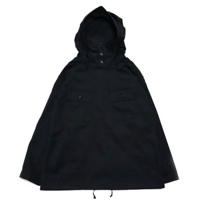 Engineered Garments(エンジニアードガーメンツガーメンツ)/ CAGOULE SHIRT (High Count Twill) - BLACK