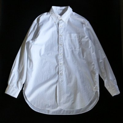 Engineered Garments(エンジニアードガーメンツ)/ 19th BD Shirt (100's Broadcloth) - WHITE