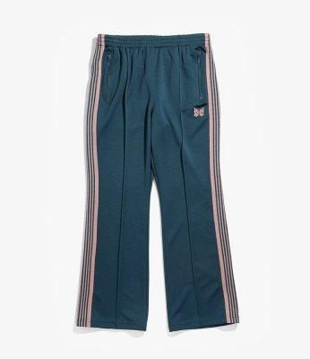 Needles / TRACK PANT (POLY SMOOTH) - TEAL GREEN