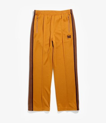 Needles / TRACK PANT (POLY SMOOTH) - MUSTERD