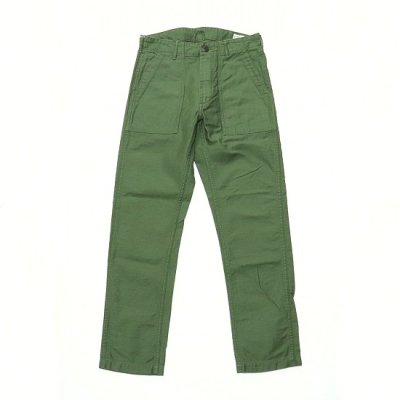 orslow (オアスロー) / SLIM FIT FATIGUE PANTS - GREEN