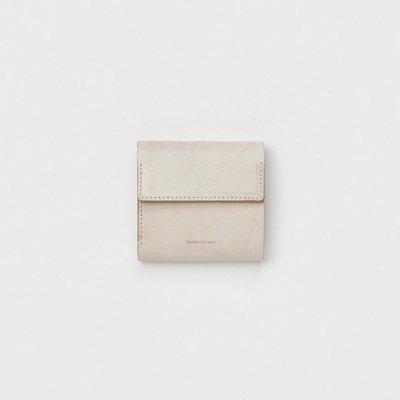 Hender Scheme (エンダースキーマ) / clasp wallet - IVORY