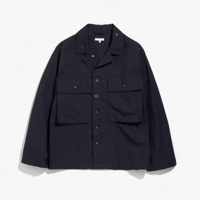 <img class='new_mark_img1' src='https://img.shop-pro.jp/img/new/icons8.gif' style='border:none;display:inline;margin:0px;padding:0px;width:auto;' />Engineered Garments(エンジニアードガーメンツ)/ M43/2 SHIRT JACKET(COTTON RIPSTOP)- DK.NAVY