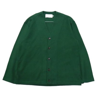 CURLY (カーリー) / AZTEC CARDIGAN - D.GREEN
