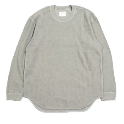 CURLY (カーリー) / CLOUDY LS TEE - Lt.GRAY