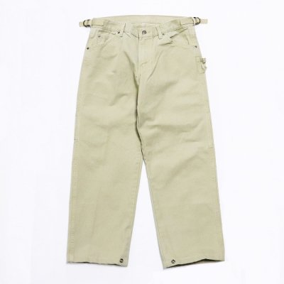 go-getter / #006 REMAKE PAINTER SNAP Pants 2 - BEIGE