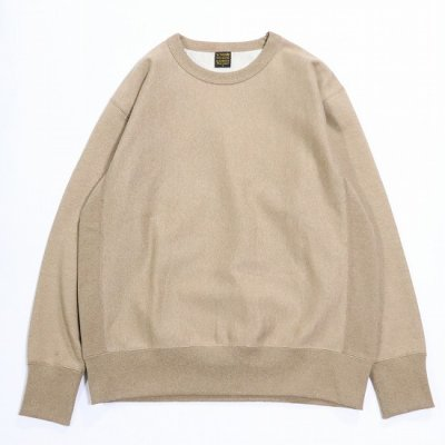 A Vontade (ア ボンタージ) / Reverse Crew Sweat L/S - AMBER MIX