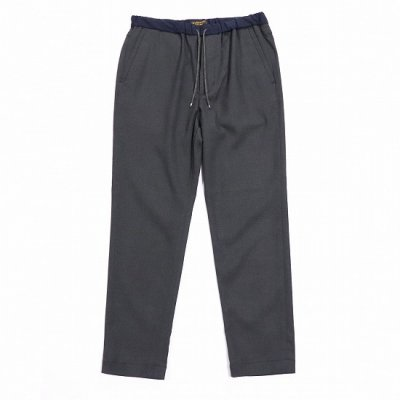 A Vontade(ア ボンタージ) / Slim Easy Slacks - DARK CHARCOAL
