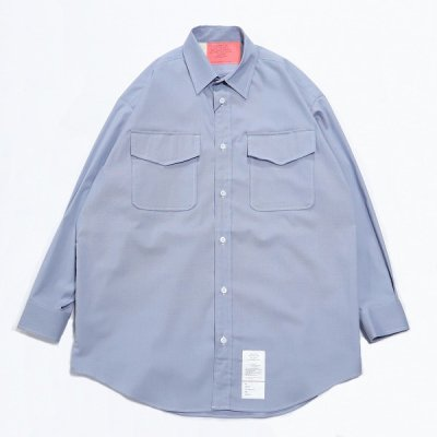 N.HOOLYWOOD(エヌハリウッド) / US.NAVY CPO SHIRTS - BLUE / 9211-SH05-016