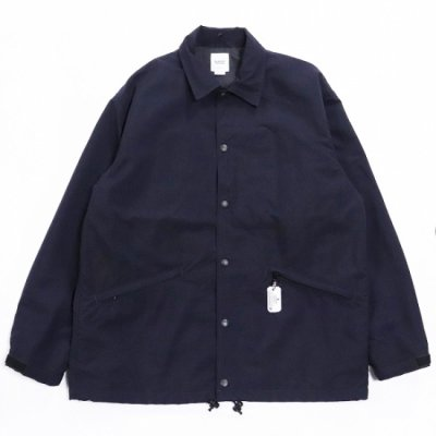 BAMBOO SHOOTS(バンブーシュート) / WINDBREAKER COACH JACKET - NAVY