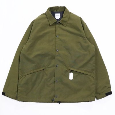 BAMBOO SHOOTS(バンブーシュート) / WINDBREAKER COACH JACKET - OLIVE