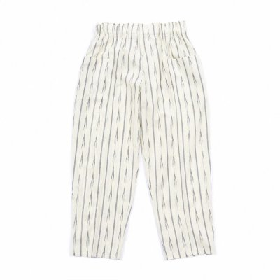 South2West8 (サウスツーウエストエイト) / ARMY STRING PANT (IKAT ARROW) - WHITE