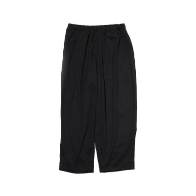 N.HOOLYWOOD (エヌハリウッド) / WIDE EASY PANTS - BLACK