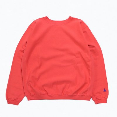 BAMBOO SHOOTS(バンブーシュート) / R.W. CREWNECK SWEAT - RED