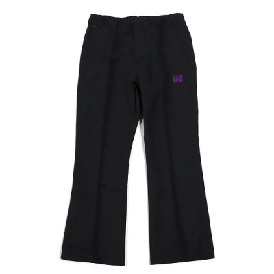 Needles別注 / W.U. Boot Cut Pant (Pe/C Twill) - BLACK×PURPLE