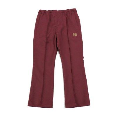 Needles別注 / W.U. Boot Cut Pant (Pe/C Twill) - SCHOOL MAROON