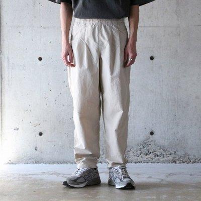 BURLAP OUTFITTER (バーラップアウトフィッター) / TRACK PANTS - SAND BEIGE
