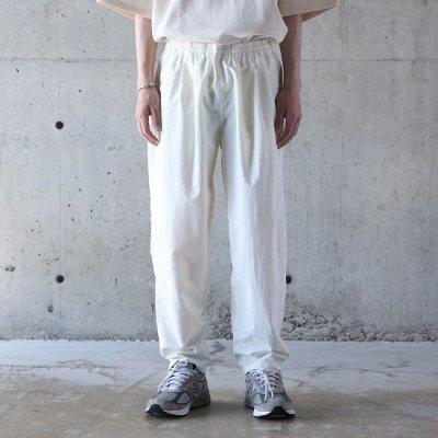 BURLAP OUTFITTER (バーラップアウトフィッター) / TRACK PANTS - OFF WHITE