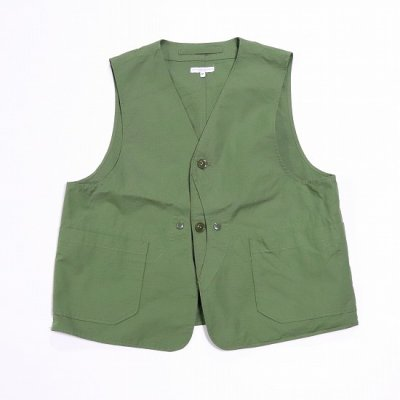 Engineered Garments(エンジニアードガーメンツ)/ UPLAND VEST - COTTON RIPSTOP