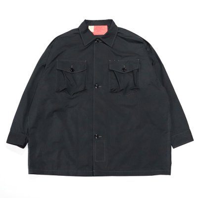 N.HOOLYWOOD(エヌハリウッド) / OG 107 TYPE SHIRT - BLACK / 9211-SH04-006