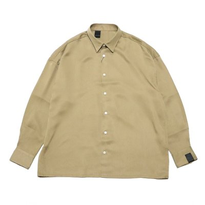 N.HOOLYWOOD(エヌハリウッド) / REGULAR COLLAR SHIRT - BEIGE / 2211-SH24-021